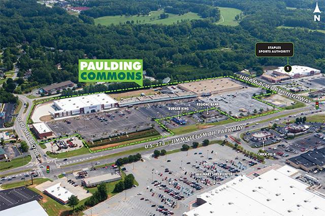 Paulding-Commons Aerial